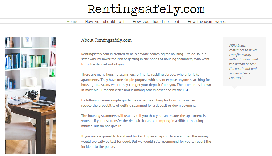 Renting Safely